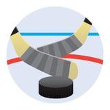 Hockeyspel Vector Illustratie