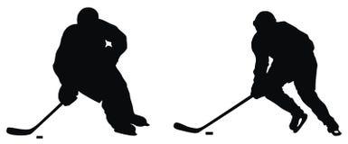 hockeyspelare Arkivbilder