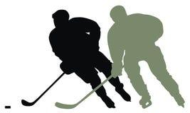 hockeyspelare Arkivfoto