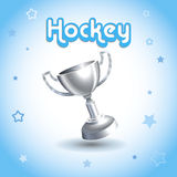 Hockeytrophäenschale Stockfotos