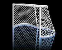 Hockeyziel. Lizenzfreie Stockbilder