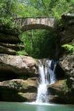 Hocking Hügel-Wasserfall Stockbild