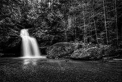 Hocking Hills Waterfall Stock Images