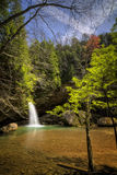 Hocking Hills Waterfall Royalty Free Stock Image