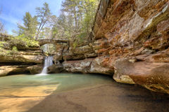 Hocking Hills Waterfall stock photos
