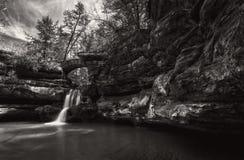 Hocking HIlls Waterfall Stock Photography