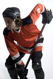 Hocky Player - Vertical Stock Photography