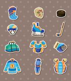 Hocky stickers Stock Photography