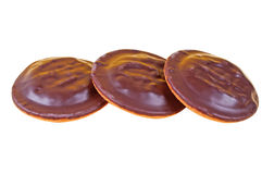 hocolate печений предпосылки близкое изолированное вверх Стоковое Фото