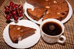 Сhocolate cake Stock Photos