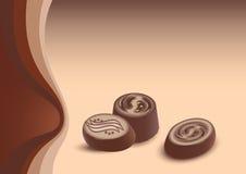 Сhocolate candies Royalty Free Stock Photos