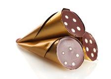 ÃÂ ¡ hocolate cukierek w formie rogu Zdjęcie Stock