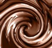 Hocolate swirl Stock Photos