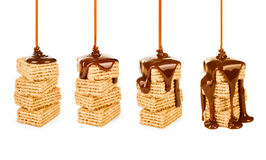 Hocolate syrop na ciastka Obraz Royalty Free