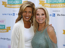 Hoda Kotb and Kathie Lee Gifford Royalty Free Stock Photos