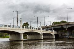 Hoddle Bridge, Melbourne/Australia Royalty Free Stock Images