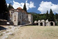 Hodegetria Byzantine Church Mystras Stock Image