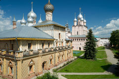 Hodegetria church in Kremlin of Rostov The Great Stock Photography