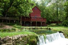 Hodgson Mill. In Ozark County Missouri stock image