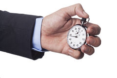 Hoding Time Royalty Free Stock Image