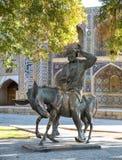 Hodja Nasreddin in Bukhara, Uzbekistan Royalty Free Stock Photography