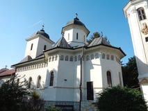 Hodos-Bodrog Monastery - Zădăreni, Arad county – Romania. Hodos-Bodrog Monastery - The Assumption of the Virgin Mary, historical monument - attested stock photos