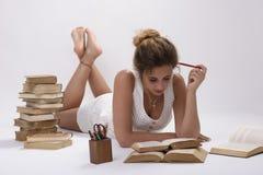 Hoe hard het moet leren! Stock Afbeelding