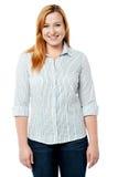 Hoe kijk ik in overhemd? Royalty-vrije Stock Afbeelding
