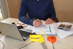 Hoe te om businessplan te schrijven Bedrijfsdoelstellingen beelden Royalty-vrije Stock Foto