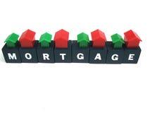 Hoe te om uw hypotheek te betalen? Stock Afbeelding