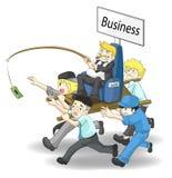 Hoe te om zaken IN WERKING TE STELLEN Stock Foto's
