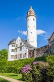 Hoechster Schlossmuseum i Frankfurt-Hoechst Fotografering för Bildbyråer