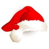 Hoed van de Kerstman Stock Foto
