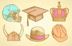 hoeden Royalty-vrije Stock Afbeelding