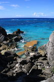 Hoefijzer Baai de Bermudas Stock Afbeeldingen