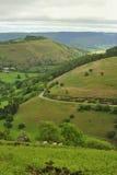 Hoefijzer pas, Llangollen, Noord-Wales Royalty-vrije Stock Afbeeldingen