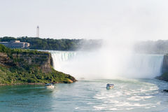 Hoefijzer Val van Niagara Falls Stock Afbeelding