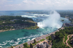 Hoefijzer Waterval, Niagara Falls, Canada Royalty-vrije Stock Fotografie