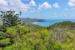 Hoefijzerbaai in Magnetisch Eiland, Australië stock fotografie