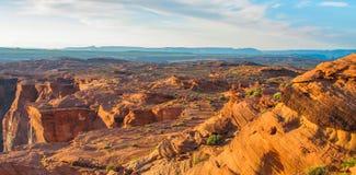 Hoefijzerkromming in het Nationale Park van Grand Canyon, Arizona, de Verenigde Staten van Amerika stock foto's