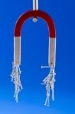 Hoefijzermagneet Stock Afbeelding