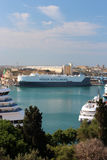 'Hoegh autoliners' ships in Valletta Stock Images