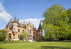 Hoeilaart Town Hall. In Jan van Ruusbroec park, Hoeilaart, Belgium Stock Photos
