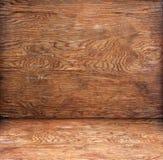 Hoek Houten Textuur Royalty-vrije Stock Foto's