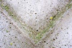 Hoek onderaan Achtergrond Abstracte geometrische achtergrond van het beton stock foto's