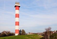 Hoek-Packwagen Holland - Leuchtturm Lizenzfreie Stockbilder