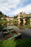 Hoek-sur-Anglin Royalty-vrije Stock Fotografie