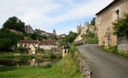 Hoek-sur-Anglin Stock Afbeeldingen