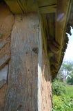 Hoek van de hut Stock Foto