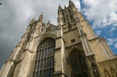 Hoek van de kathedraal Royalty-vrije Stock Afbeeldingen